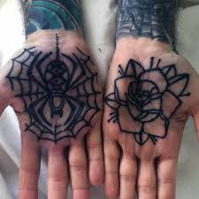 80 spider web tattoo designs for men tangled pattern ideas