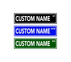Custom Decorative Signs Best 25 Custom Street Signs Ideas On Pinterest Vintage Wedding