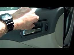 Ford Fusion Interior Door Handle Replacement Replacing Broken Inside Door Handle On 2007 Ford Fusion
