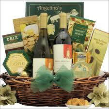 gourmet wine gift baskets festive holidays duet robert mondavi selection gourmet