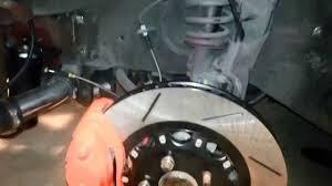 nissan 350z brembo brakes 300zx 4 pot front brembo srt8 install youtube
