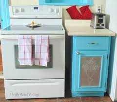 painting kitchen cupboards happy thrifty rebel vintage