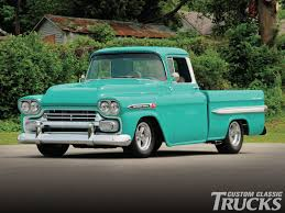 Classic Chevy Trucks Models - 1959 chevrolet apache rod network