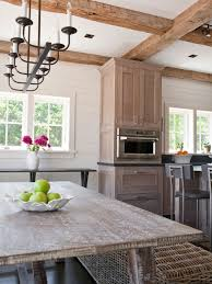 Oak Cabinets In Kitchen by Interesting Whitewash Oak Floors And Cabinets Contemporary