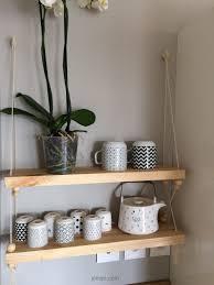 etagere maison bloomingville tuto etagere balancoire suspendue bois et corde joli tipi 11