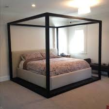 bed four post bed frame home interior decorating ideas