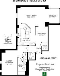 95 lombard st suite 901 saint james place virtual tour floor plan