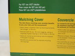 amazon com john deere gy00115 mulch cover fits 100 d l and la