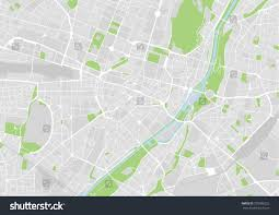 Map Of Munich Germany by Vector Map City Center Munich Germany Stock Vector 309386222
