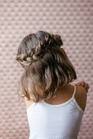 plait at back of head hairstyle 25 totally pretty holiday hairstyles for little girls
