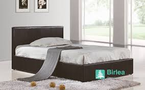 Leather Ottoman Bed Bedstore Uk Birlea Berlin Ottoman Leather Bed Bedstore Uk