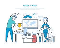exercice au bureau forme physique de bureau faire folâtre des exercices formation