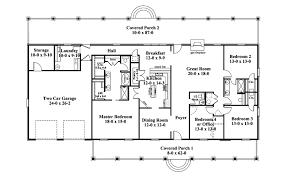 ranch house floor plans surprising design ideas 2 single story ranch house floor plans one