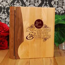 engraved wedding album 10 best images of custom wedding album custom wedding albums