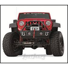 4 door jeep rock crawler jeep parts buy warn rock crawler stubby front bumper with grille
