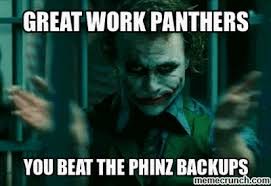 Panthers Suck Meme - suck