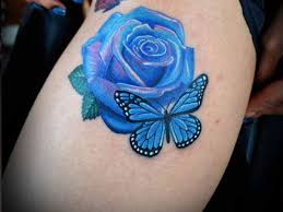 21 unique blue rose tattoo designs slodive