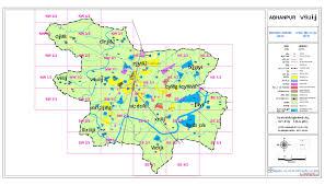 Grid Map Abhanpur Master Plan 2031 Report Abhanpur Master Plan 2031 Maps