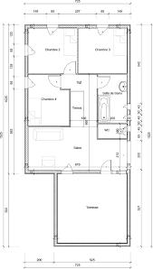 plan maison gratuit plain pied 3 chambres plan maison une chambre maison plain pied 2 chambres bureau plan