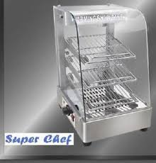 heated food display warmer cabinet case new heated food display warmer cabinet case 15 s s ebay