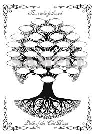 celtic family tree for your book of shadows i want to a