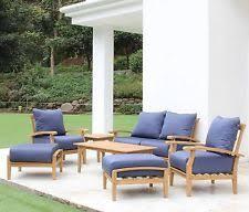 Teakwood Patio Furniture Teak Outdoor Furniture Ebay