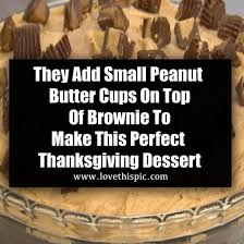 they add small peanut butter cups on top of brownie to make this thanksgiving dessert 32366 1 png
