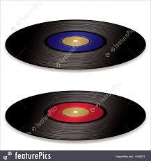 fashioned photo albums illustration of lp record album flat