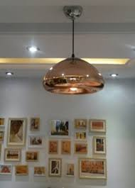 modern pendant lamp bathroom mirror light silver glass mirror