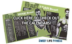 free workout schedule body beast workout schedule free download and tips