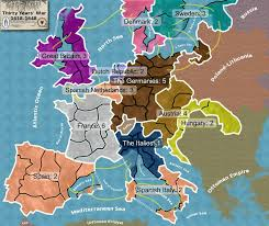 European Map Game by Thirty Years War Easter Pinterest History Holy Roman Empire