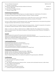 Occupational Therapy Resume Examples by How To Make Your Occupational Therapy Resume Stand Out Potential