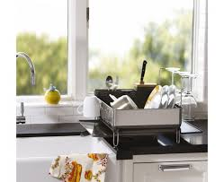 kitchen organizing ideas decor u0026 tips charming dish drainer ideas for plates and glassware