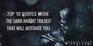 quote on success in hindi top 10 quotes from batman dark knight trilogy that will motivate