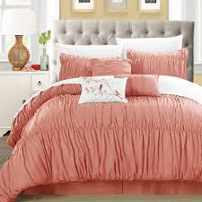 Coral Comforter Sets Bedroom Design Ideas Casual Home Bedding Home Decor Shops Near