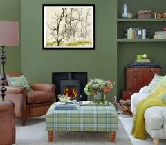 green livingroom decorating a green living room