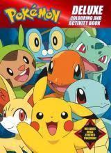 pokemon colouring activity book 9781743812037