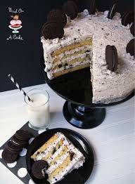 bird on a cake oreo cookies and cream cake