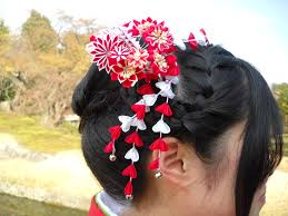 hair decorations daily glimpses of japan kanzashi 簪 hair decorations