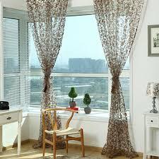 online shop romantic window panel drape curtains curtain door room