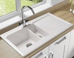 Double Ceramic Sink EBay - Double ceramic kitchen sink