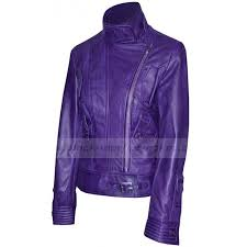 ladies motorcycle jacket supermodel womens biker jacket purple leather motorcycle jacket