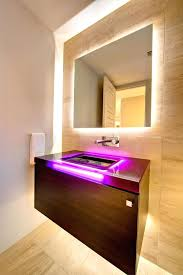 Modern Lights For Bathroom by Wall Ideas Illuminated Makeup Mirror Wall Mounted Vanity Wall
