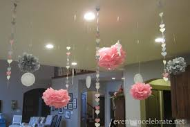 homey ideas for bridal showers at home wedding shower decorations