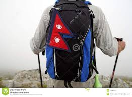 Pics Of Nepal Flag Mountaineer With Nepal Flag Stock Image Image Of Whistle