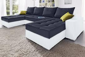 sofa mit federkern collection ab wohnlandschaft mit bettfunktion und federkern