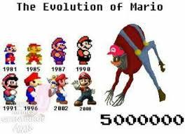 Mario Memes - evolu礑ao do mario meme by aquelacarinhavevo memedroid