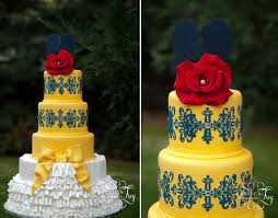 navy u0026 yellow wedding inspired by beauty u0026 the beast part 2