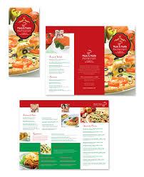 takeout menu template italian restaurant take out menu template