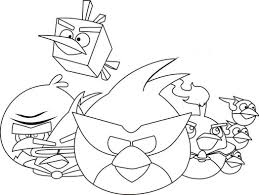 angry birds coloring pages for kids coloring pages angry birds